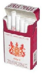 Viceroy 24 Red (Pall Mall 24 Red)  1 packet (24 cigarettes /packet)