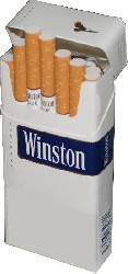 Winston Blue 100 Long 5 packets