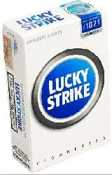 Lucky Strike 22 Blue - 3 packets